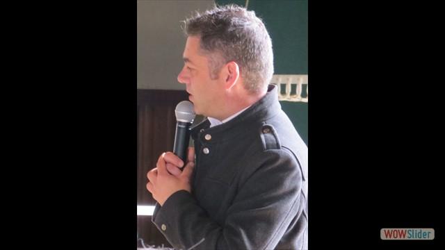Nicolas Gamache - délégué au patrimoine naturel à la nouvelle région