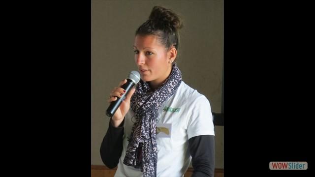 Présentation du projet éducatif avec Roxanne Augé